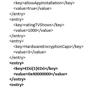CPPM MDM - XML Error