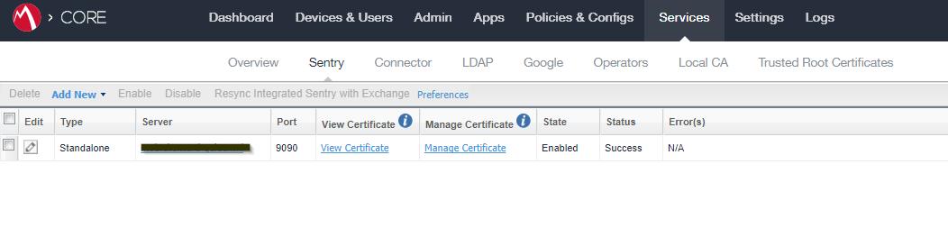 MobileIron - replace SSL certificate | Booches nl