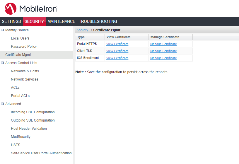 Mobileiron Replace Ssl Certificate Booches